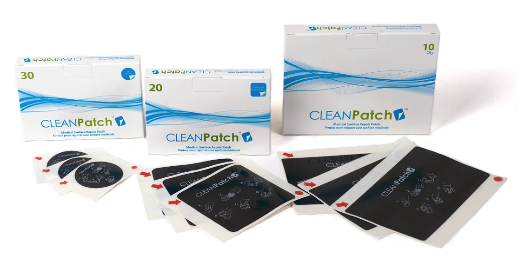 Surface Medical CleanPatch Packaging